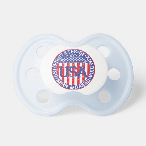 USA Born and Raised Pacifiers