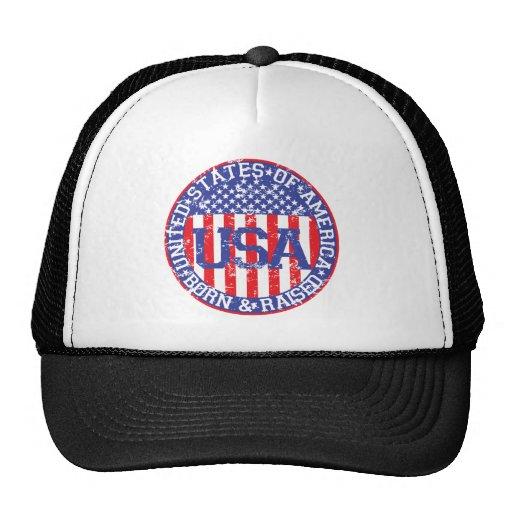 USA Born and Raised Hat