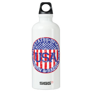 USA Born and Raised SIGG Traveller 0.6L Water Bottle