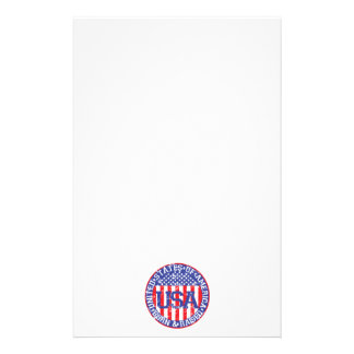 USA Born and Raised Stationery Paper