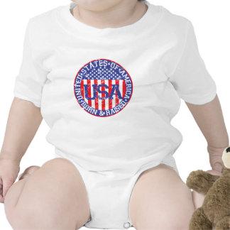 USA Born and Raised Tshirts