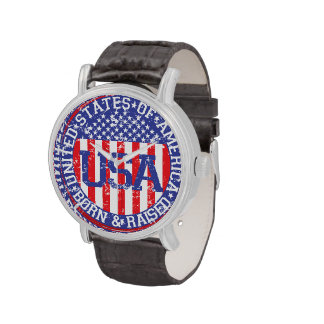 USA Born and Raised Watches