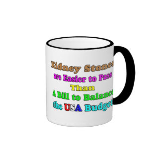 USA Budget 2011 Coffee Mug