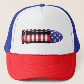 USA Bullet Trucker Hat