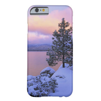 USA, California. A winter day at Lake Tahoe. Barely There iPhone 6 Case