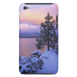 USA, California. A winter day at Lake Tahoe. iPod Touch Cases