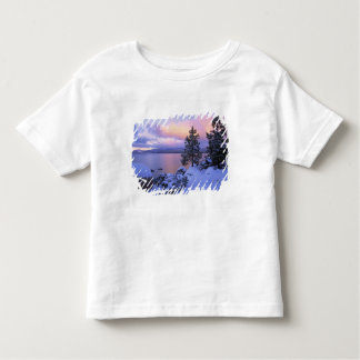 USA, California. A winter day at Lake Tahoe. Toddler T-Shirt