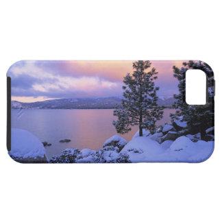 USA, California. A winter day at Lake Tahoe. Tough iPhone 5 Case