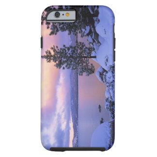 USA, California. A winter day at Lake Tahoe. Tough iPhone 6 Case