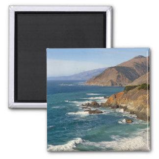 USA, California, Big Sur Coastline Magnet