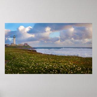 USA, California. Big Sur Panorama 2 Poster