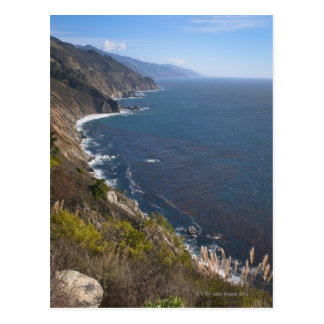 USA, California, Big Sur, Rugged coastline Postcard
