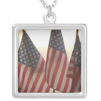 USA, California, Gold Country, Amador City: Square Pendant Necklace
