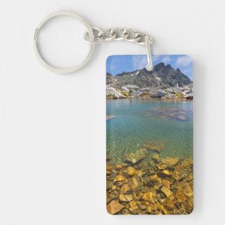 USA, California, Inyo National Forest 8 Double-Sided Rectangular Acrylic Key Ring