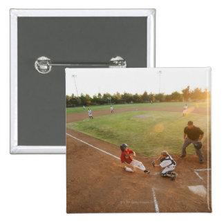 USA, California, Ladera Ranch, boys (10-11) 15 Cm Square Badge