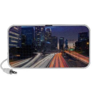 USA, California, Los Angeles, 110 Freeway Notebook Speakers