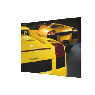 USA, California, Los Angeles: Los Angeles Auto 2 Gallery Wrapped Canvas