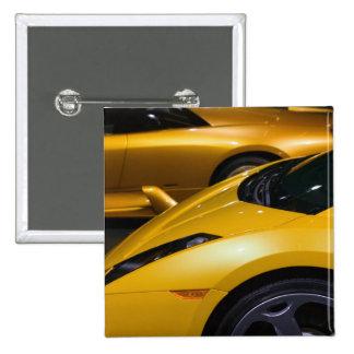 USA, California, Los Angeles: Los Angeles Auto 15 Cm Square Badge