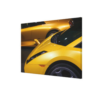 USA, California, Los Angeles: Los Angeles Auto Stretched Canvas Prints