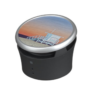 USA, California, Los Angeles, Santa Monica Beach Bluetooth Speaker