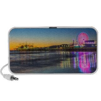 USA, California, Los Angeles, Santa Monica Pier Portable Speakers