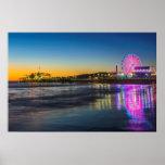 USA, California, Los Angeles, Santa Monica Pier Poster