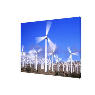 USA, California, Mojave. View of a wind turbine Gallery Wrap Canvas