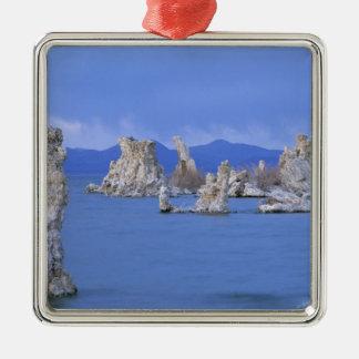 USA, California, Mono Lake Silver-Colored Square Decoration