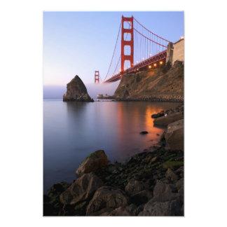 USA, California, San Francisco. Golden Gate Photo Print