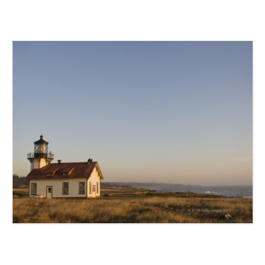 USA, California, small lighthouse Postcard
