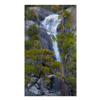 USA, California. Small Waterfall In Yosemite Posters