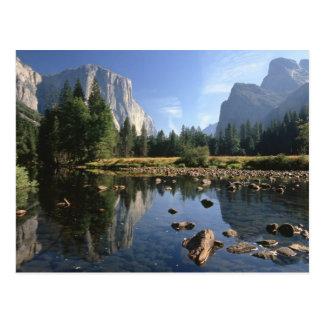 USA California Yosemite National Park 5 Post Cards