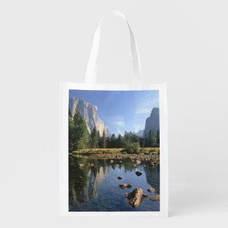 USA, California, Yosemite National Park, 5 Reusable Grocery Bag