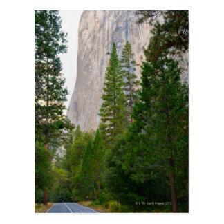 USA, California, Yosemite National Park, El 4 Postcard
