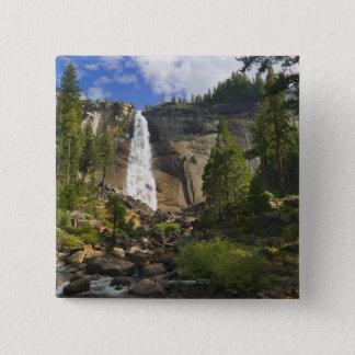 USA, California, Yosemite National Park, Nevada 15 Cm Square Badge