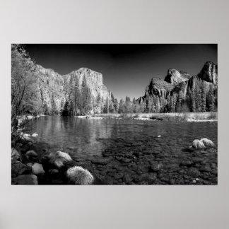 USA, California. Yosemite Valley View Posters