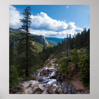 USA, California. Yosemite Valley Vista 2 Print