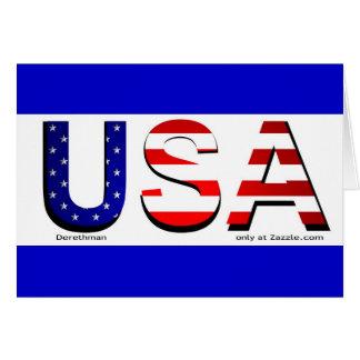 USA (card) Card