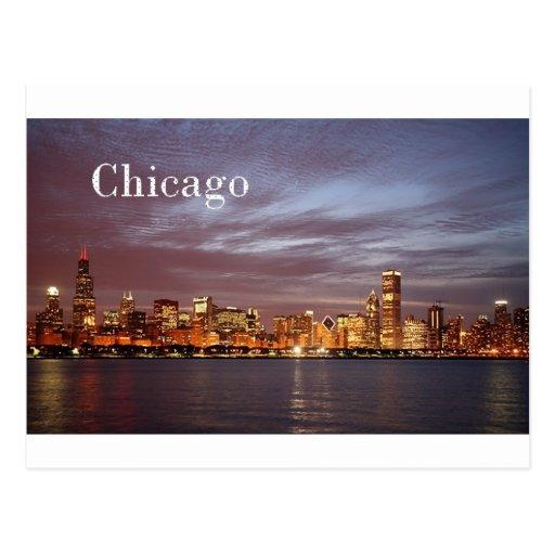 USA Chicago St.K) Post Card