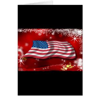 USA Christmas Card