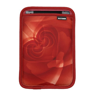 USA, Colorado, Lafayette. Red rose montage iPad Mini Sleeves