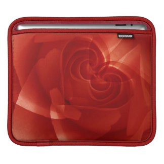 USA, Colorado, Lafayette. Red rose montage iPad Sleeves