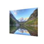 USA, Colorado, Maroon Bells-Snowmass Gallery Wrapped Canvas