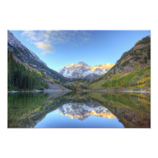 USA, Colorado, Maroon Bells-Snowmass Art Photo