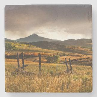 USA, Colorado, San Juan Mountains Stone Coaster