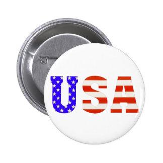 USA Customize me! 6 Cm Round Badge