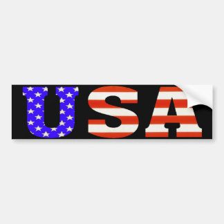 USA Customize me! Bumper Sticker