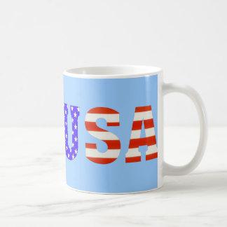 USA Customize me! Basic White Mug