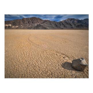 USA, Death Valley, Rock on Playa Postcard