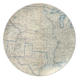 USA Dec 1860 Dinner Plate